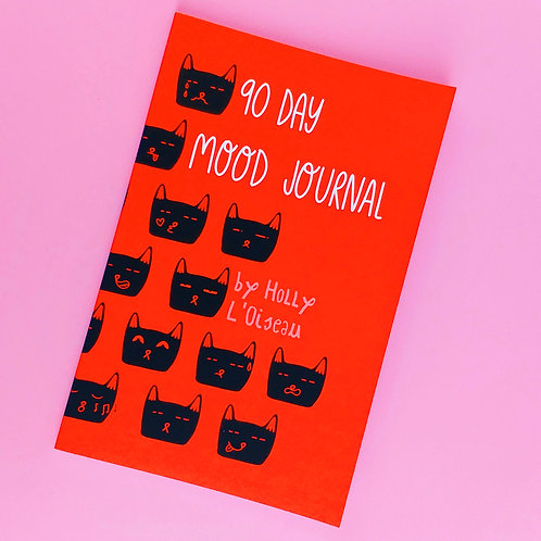 90 Day Mood Journal