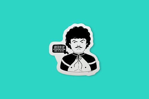 Nacho Libre Vinyl Sticker