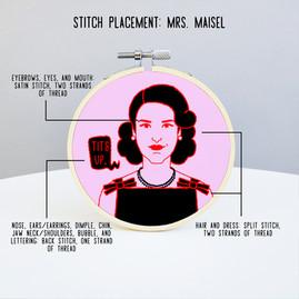 embroidery mockup mrs. maisel STITCH PLA