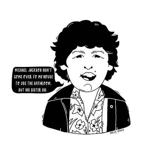 The Goonies, Chunk, 4x4 Print (Print Only. No Framed Included)
