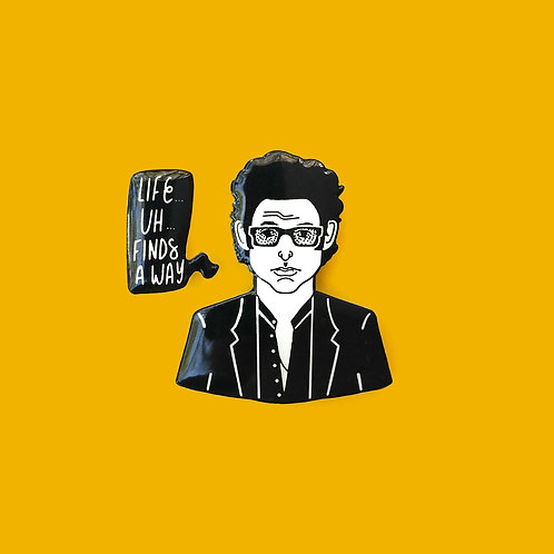 Ian Malcolm Pin Set, 2 options