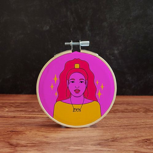 Lizzo Embroidery Kit