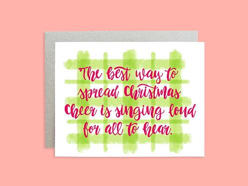 Holiday Card, Elf