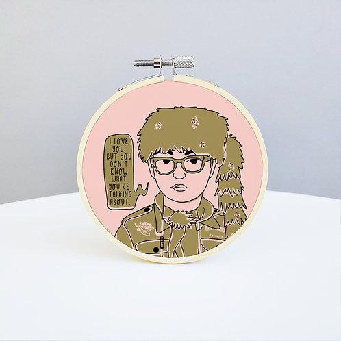 Moonrise Kingdom Embroidery Kit
