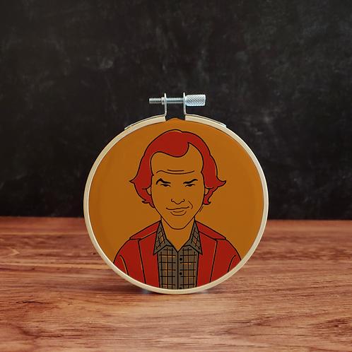 The Shining Jack Torrance Embroidery Kit
