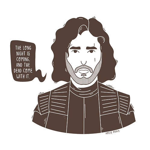 Game of Thrones, 4x4 Print