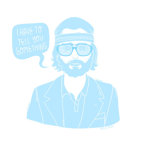 Wes Anderson Royal Tenenbaums 4x4 Print Collection