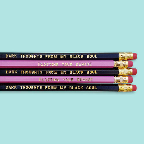 Dark Thoughts Pencil Duo Set
