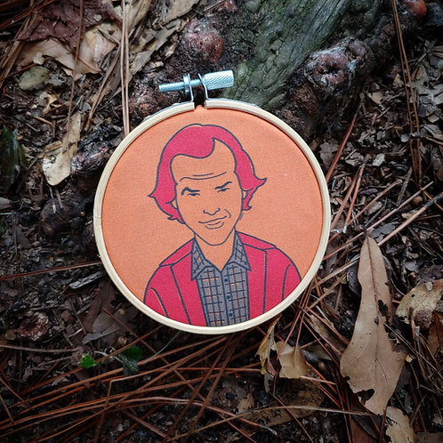 The Shining Jack Torrance Embroidery Kit
