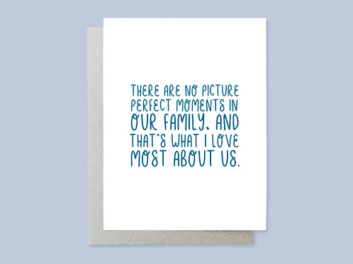 Picture Perfect Moments Handlettered Greeting Card