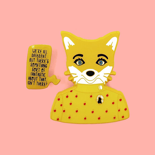 Mrs. Fox Enamel Pin Set