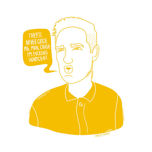Wes Anderson Bottle Rocket 4x4 Print Collection