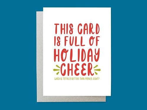 Holiday Card, Cheer