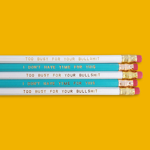 Too Busy Pencil Duo Set