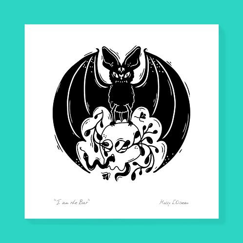 Bat Print, 4x4