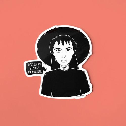 Lydia Deetz Vinyl Sticker