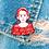 Thumbnail: The Handmaid's Tale Soft Enamel Pin with Epoxy