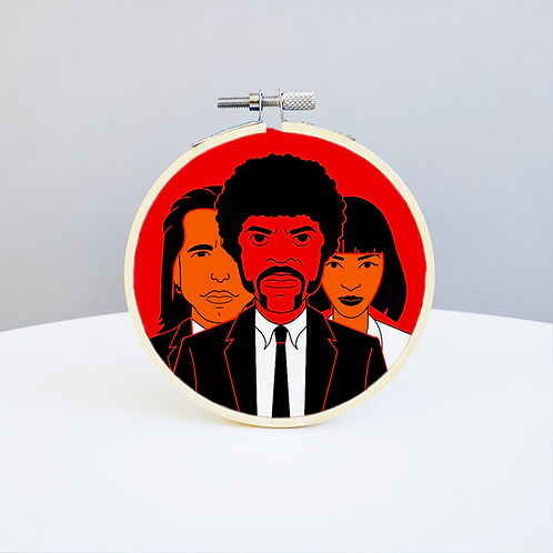 Pulp Fiction Embroidery Kit