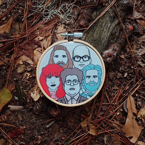 What We Do in the Shadows Embroidery Kit
