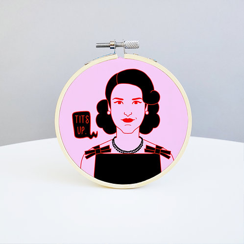 The Marvelous Mrs. Maisel Embroidery Kit