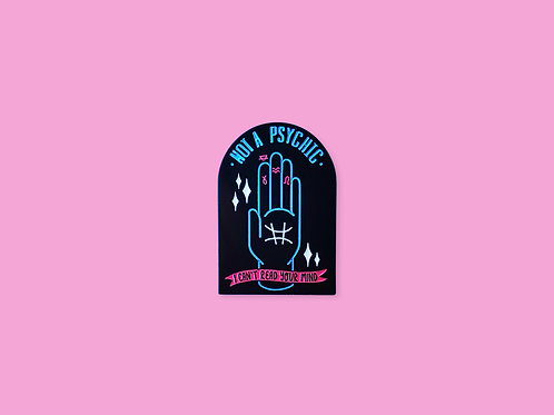 Not a Mind Reader Enamel Pin