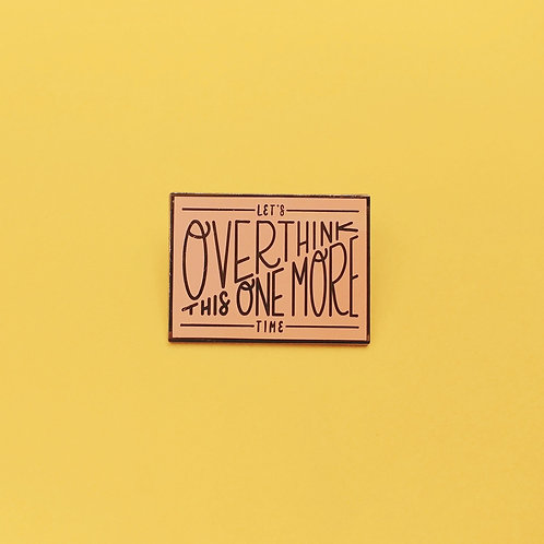 copy of Let's Overthink This Pin