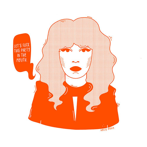 Russian Doll Nadia, 4x4 Print (Print Only. No Framed Included.)