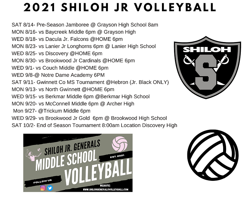 2021 Volleyball Shiloh JR Generals Schedule.png