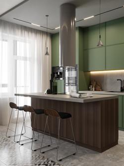 Гостиная и кухня_1