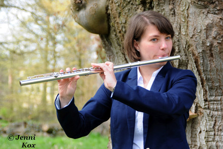Fluting in the park