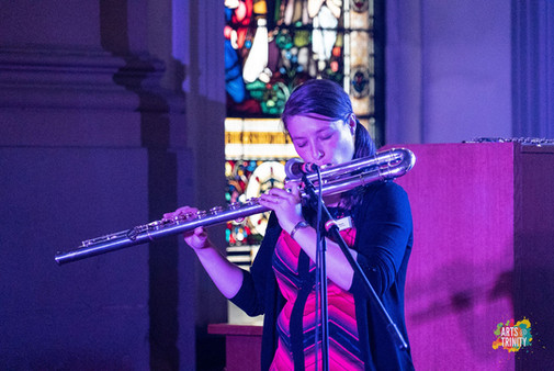 Bass Flute with Departure Lounge