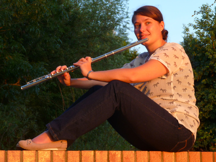 Flutes in the sun