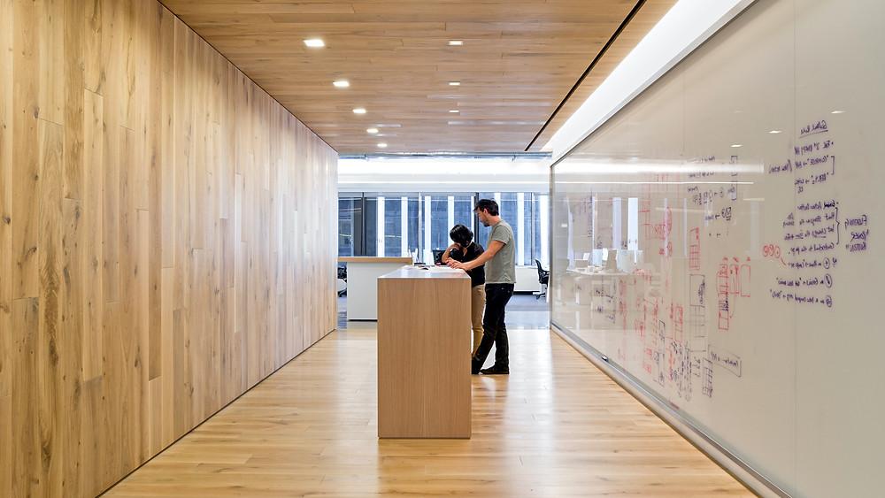 The Knak Group Magnetic Glass Whiteboards Modern Office Design