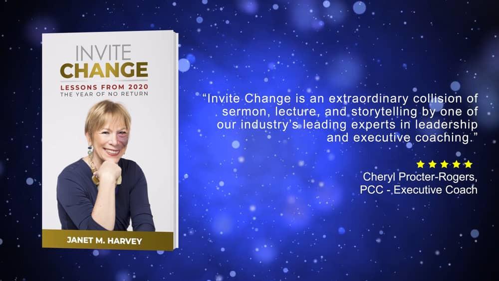 Janet M. Harvey - author of Invite Change