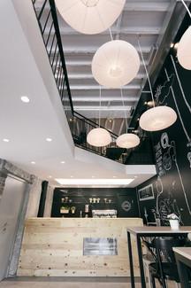 Kahve dükkanı için aydınlatma tasarımı