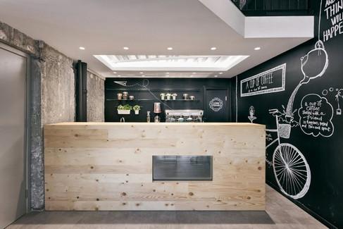 Kahve Dükkanı İç Mimari Tasarım