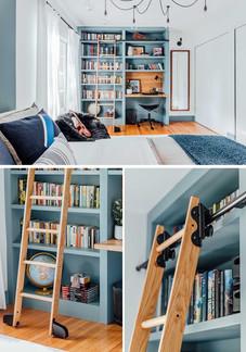 Genç Odası Raf ve Kitaplık