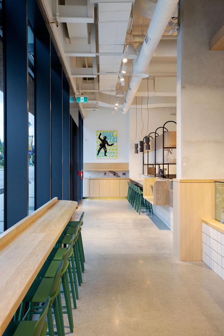 Modern Kafe Restoran Bar Masa ve Dekoru