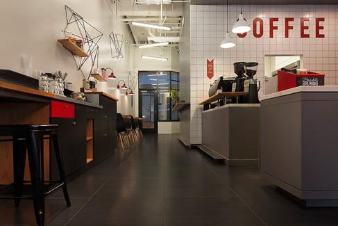 çağdaş kahve dükkanı tasarımı ve uygulama projesi