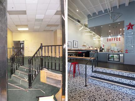 çağdaş modern coffee shop iç tasarımı ve uygulaması