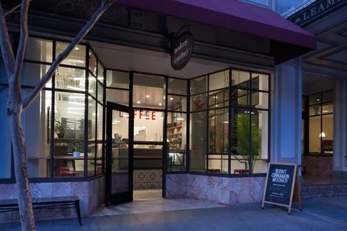 Restoran dış cephe tasarımı ve uygulama projeleri