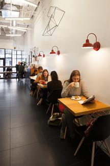 modern kahve dükkanı tasarımı ve uygulama projesi