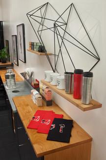 kahve dükkanı İç Mimari ve uygulama projesi