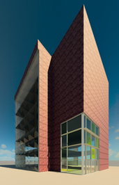 Artistic Curtain Wall System Design