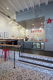 Kahve dükkanı tezgah tasarımı ve üretimi