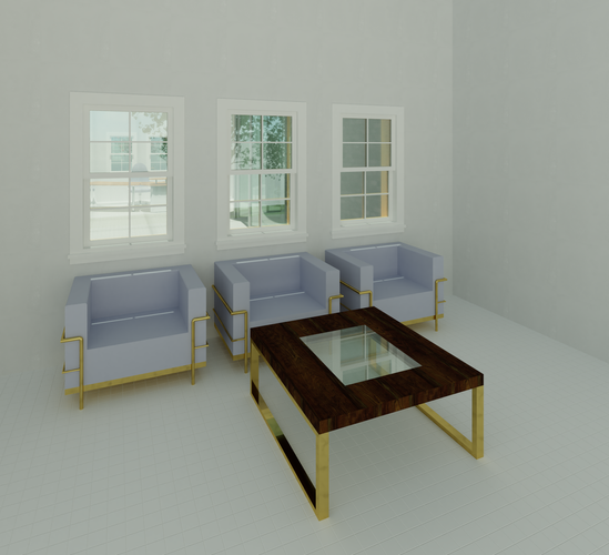 Interior Design Rendering with Revit .pn