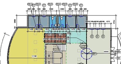 2D Floor Plan Dimensions - Colored