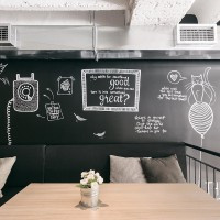 Kahve Dükkanı İç Mimarisi