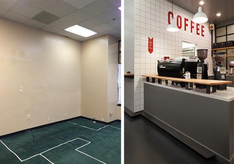Kahve dükkanı tezgah tasarımı ve uygulama projesi