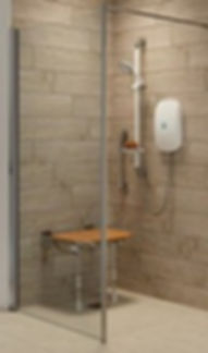 Safe walk in shower Merseyside